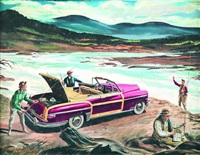 fishing trip in the chrysler by norman kenyon