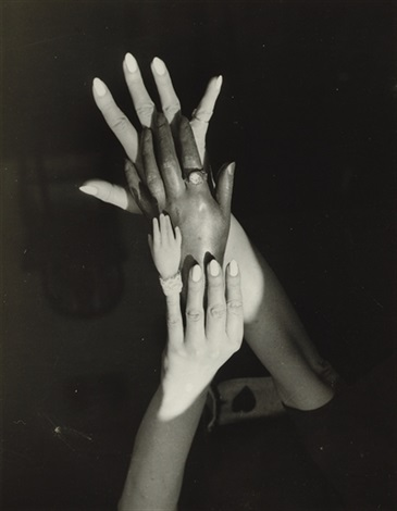 untitled surrealist hands by claude cahun