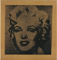 not warhol (marilyn) by mike bidlo