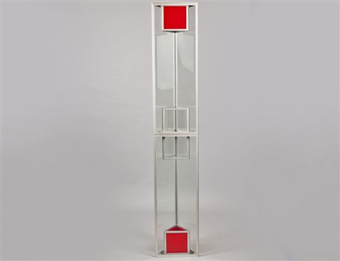 cube tower by larry bell