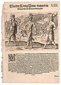 early indian engravings (3 works) by johann theodor de bry