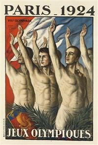 paris - 1924/jeux olympiques by jean droit