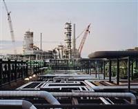 oil refineries #15, st. john, new brunswick by edward burtynsky