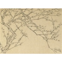 plum blossoms (album w/12 works) by liu dan