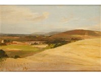 the south downs by james aumonier