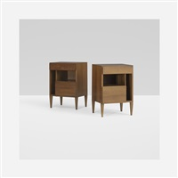 nightstands (pair) by gio ponti