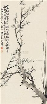 寒梅图 (landscape) by ma shaoqi
