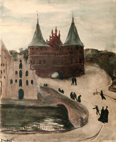 the castle by magnus enckell