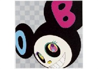and then black by takashi murakami