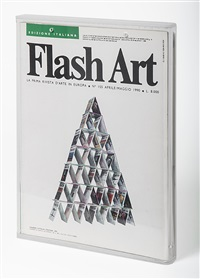 flash art strategie by maurizio cattelan