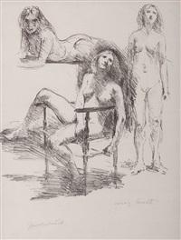 weibliche akte by lovis corinth