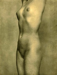 untitled - nude study by ben magid rabinovitch