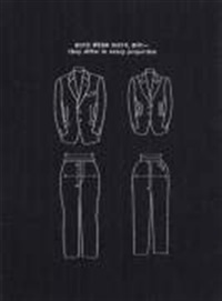 both wear suits but they differ in every proposition by robin kahn