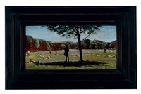 the great lawn (shaded figure) by mark innerst