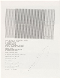 rêverie d'un promeneur (dactylopoeme) by henri chopin
