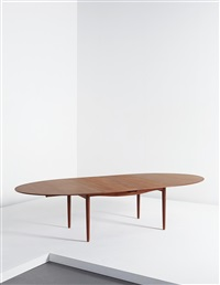 judas extendable dining table by finn juhl