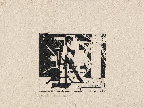 schiffe und sonne 5 by lyonel feininger