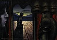 meriggio nella sala rossa by enrico alimandi