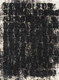 study for negro sunshine # 5 by glenn ligon