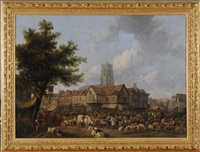 marketplace, st. albans by henry milbourne