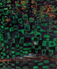 grüne landschaft by tibor toth