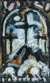 les trois croix by georges rouault
