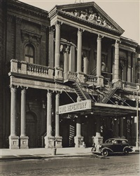 civic repertory theater, 14th street west and 6th avenue, manhattan, july 2 by berenice abbott