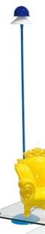 lampada da terra (modello segno) by gregotti associati