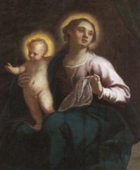 madonna con bambino by matteo ponzoni