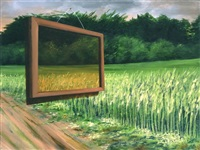 frame in a landscape by amalia haas
