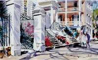 meeting street steps, charleston by virginia fouche bolton