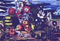 brocca con fiori by carlo hollesch