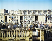 satellite dishes by kader attia