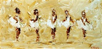 five ballerinas by louise mansfield