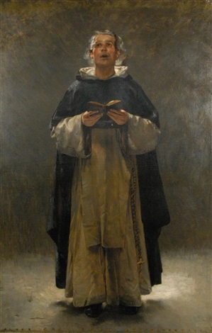 a dominican monk by walter gay