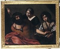 omero recita l'iliade by michelangelo merisi da caravaggio