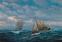 losbåten går ut by zackarais martin aagaard