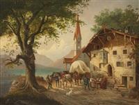 wirtshaus am see by paul leuteritz