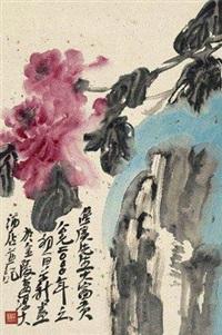 牡丹 by zhou jingxin