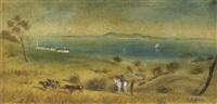 south australian landscape by john michael skipper