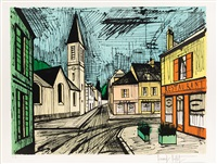 le village by bernard buffet