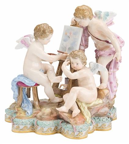 allegorie der malerei model 5 by michel victor acier