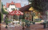 in the garden by adolf j. (jelinek) alex