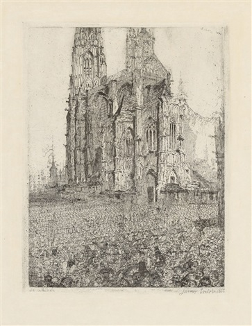 la cathédrale by james ensor