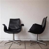 fauteuil visiteur by preben fabricius and jørgen kastholm