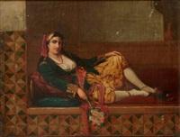 femme dans un harem by jan baptist huysmans