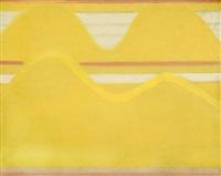 o.t. (abstrakte landschaftskomposition) by bernd koberling