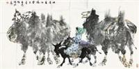 吐鲁番行旅 by liu dawei