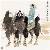 大漠行舟 by liu dawei