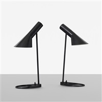 visor table lamps (pair) by arne jacobsen